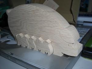 porquinos de madeira 2